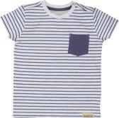 Moodstreet Jongens T-shirt - Jeans Stripe - Maat 80