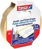 7x Tesa bevestigingsplakband, 19mmx25 m