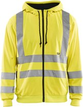 Blåkläder 3346-1974 Hooded Sweatshirt High Vis Geel maat S