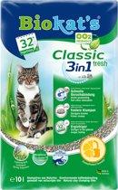 Biokat's Classic Fresh 3 in 1 - Kattenbakvulling - 10 L