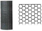 Betafence zeskantgaas verzinkt 100 cm x 5 m maas 13 mm