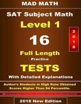 2018 SAT Subject Math Level-I 16 Tests