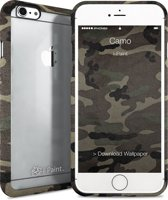 i-Paint transparant cover Ghost Camo - groen - voor iPhone 6/6S