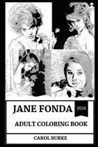 Jane Fonda Adult Coloring Book