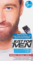 Just For Men Snor en Baard - Middenbruin - Haarverf