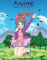 Anime Libro Para Colorear 2