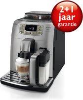 Saeco Intelia Deluxe HD8906/01 - Volautomaat espressomachine - Zilver