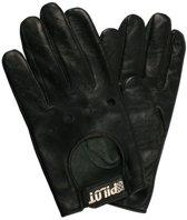 Autohandschoenen met vingers XL- racehandschoenen zwart - ademend