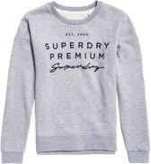 Superdry Trui - Maat M  - Vrouwen - grijs/ zwart