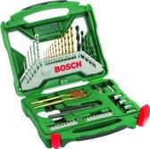 Bosch X-Line borenset - 50-delig - Titanium Plus Serie - Voor hout, metaal en steen