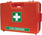 Bevaplast  EHBO koffer BHV - met wandhouder - dubbelvaks