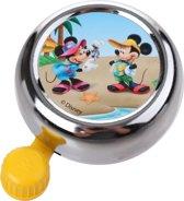 Widek Chroom - Fietsbel - Mickey Mouse - Geel