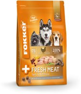 Fokker premium + fresh meat hondenvoer 13 kg
