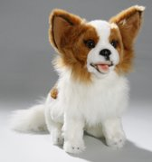 Pluche honden knuffel zittende Chihuahua 25 cm