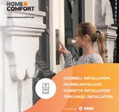 Home Comfort Slimme Deurbel Installatie (incl. extra materialen) - Voucher