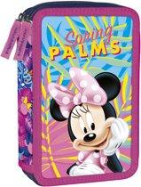 Disney Minnie Mouse Spring Palms - Gevulde Etui - 21 x 12 x 4 cm - Multi