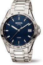 Boccia Titanium - 3597-01 - Horloge - Titanium - Zilverkleurig - 40 mm