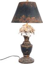 Clayre & Eef Tafellamp compleet Ø 36x73 cm E27 max 60w