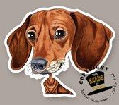Magneet Hond Teckel