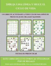Fichas De Preescolar (Dibuja Una Linea Y Sigue El Ciclo De Vida)