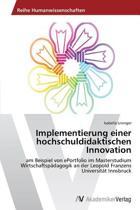 Implementierung Einer Hochschuldidaktischen Innovation