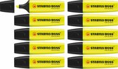STABILO BOSS ORIGINAL geel - Doos 10 stuks