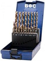 19-delige Bohrcraft Cobalt borenset DIN 338 HSS-E (Co 5)