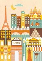 Petit Collage Paris Journal