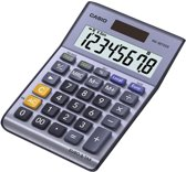 Casio MS-88TERII Desktop Basisrekenmachine Zwart, Blauw, Grijs rekenmachine