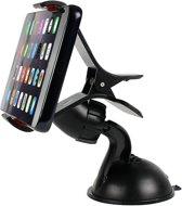 "DrPhone DC3 Universele Dashboard / Windshield Auto Cliphouder  €"" Telefoon Houder met 360 ° draaibare functie voor o.a Note"