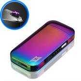 SuperLit - Elektrische Aansteker | Oplaadbaar & Stormbestendig | Plasma Aansteker | Oplaadbare Aansteker | Rainbow