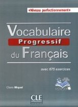 Vocabulaire progressif du français, Niveau perfectionnement. Buch + Audio-CD