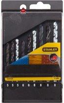 Stanley boorcassette metaal/steen/hout - 9 stuks