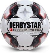 Derbystar VoetbalVolwassenen - wit/zwart/rood