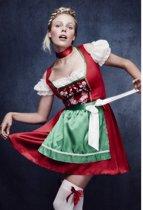 """""""Beiers serveerster kostuum voor vrouwen - Verkleedkleding - Large"""""""