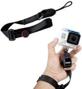 TMC CA003 Snelsluiting cameramanchet polsband voor GoPro NIEUWE HERO / HERO6 / 5/5 sessie / 4 sessie / 4/3 + / 3/2/1, Xiaoyi en andere actiecamera's, maximale lengte: 22 cm (zwart)