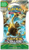 Pokemon 3 Sleeved Booster Pakjes XY Fates Collide