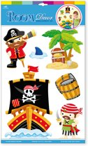 Muurstickers of decoratie sticker Piraten