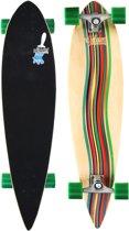 Longboard 39 Pintail • Green Vortex •, Bruin/Groen/Beige, Uni