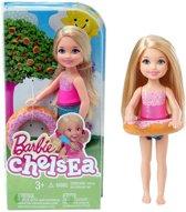 Barbie Chelsea met zwemband en badpak