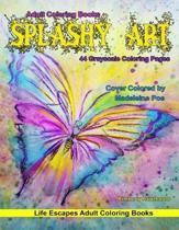 Adult Coloring Books Splashy Art
