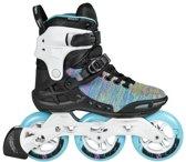 Powerslide Phuzion Argon 110 Inline Skate Dames Inlineskates - Maat 40 - Vrouwen - zwart/blauw/wit