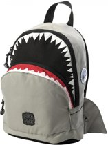 Pick & Pack Shark Shape Rugzak - Grey