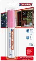 edding krijtmarker e-4090 - neonroze - 1 stuk - krijtmarkers - raamstift - raamstiften - chalkmarker -– krijtstift – glasstift – schoolbordstift – krijtbordstift – stoepbordstift