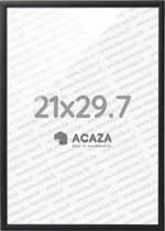 Acaza Solid - Aluminium Fotolijst - A4 (21x29.,7cm) - Zwart