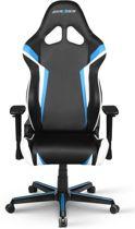 DXRacer Racing R288-NBW - Gamestoel - Zwart / Blauw / Wit