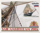 Thea Gouverneur Borduurpakket 440 Sail Amsterdam 2005 - Linnen stof