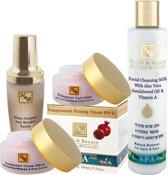 Dode zee producten - Granaatappel - Gezichtsverzorging - Rijpere huid - Set van 4