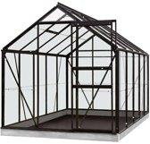 ACD serre 'Intro Grow Lily' tuinbouwglas & aluminium zwart 6,2 m²