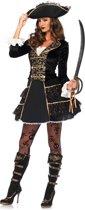 Piratenkapitein kostuum voor vrouwen - Verkleedkleding - Maat M